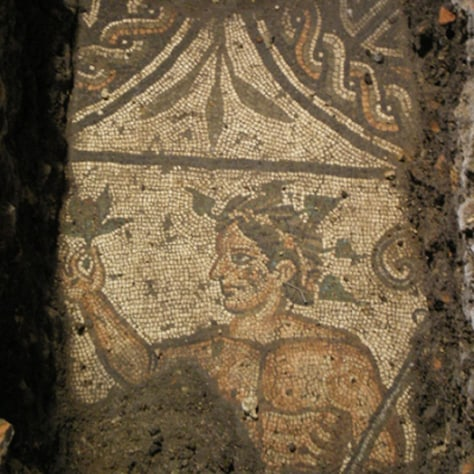 Image: Fragment of  mosaic floor