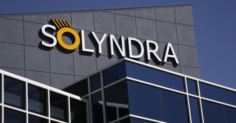 Image: Solyndra LLC headquarters shown in Fremont