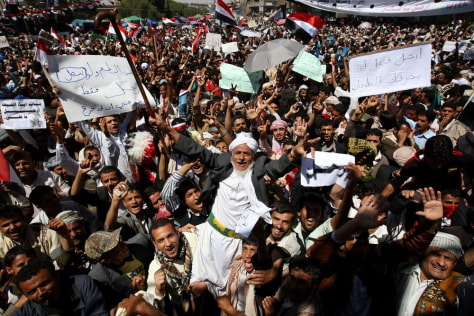 Image: Anti-government protest in Yemen