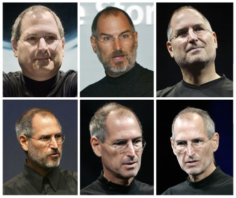 Image: Steve Jobs through the years