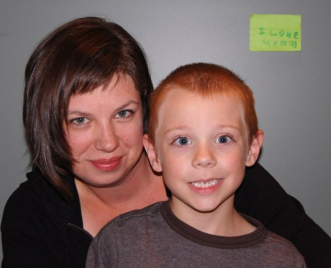 Image: North Carolina mom Penny Williams and her son Luke