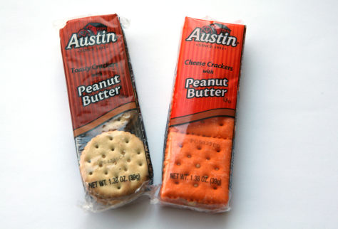 Image: Austin Peanut Butter crackers, salmonella recall