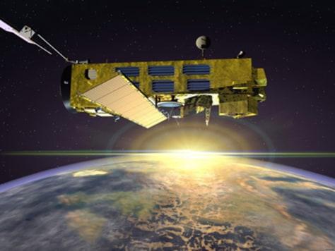 Image: Envisat satellite