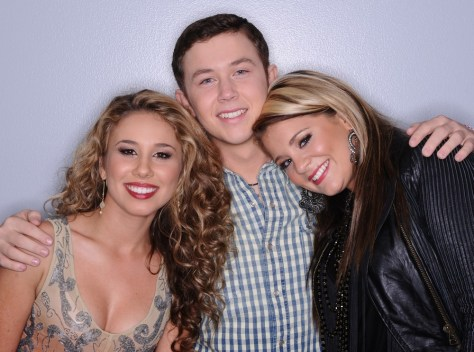 Image: Haley Reinhart, Scotty McCreery, Lauren Alaina