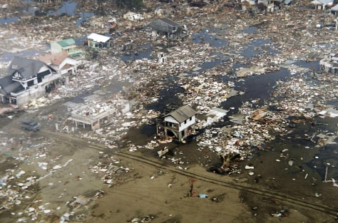 Aerial images show the extent of the devastation in Meulaboh