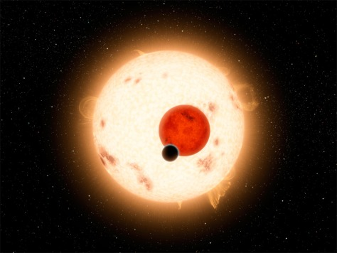 Image: NASA's Kepler mission has discovered a world where two suns set over the horizon instead of just one.