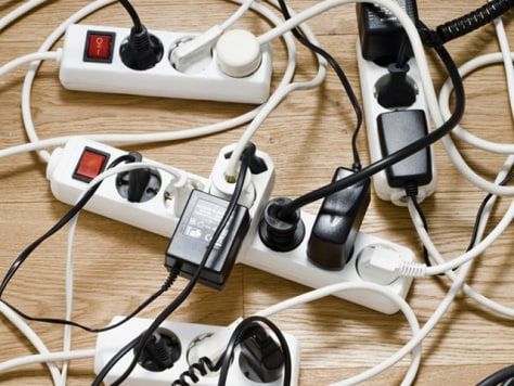Electrical Cords - Home Organization