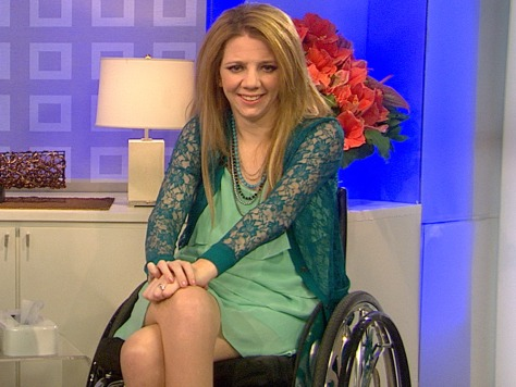 Image: Paralyzed bride Rachelle Friedman on TODAY