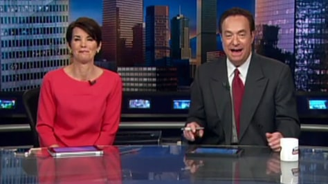 Image: KUSA anchor Kyle Dyer returns to work