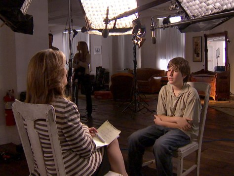 Image: Sean Goldman speaks to Meredith Vieira on Dateline NBC