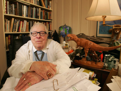 Ray Bradbury portrait shoot