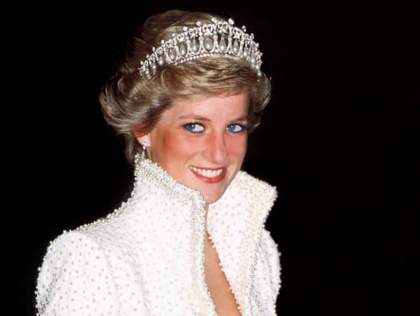 Image: FILE PHOTO: 15 Years Since The Death Of Princess Diana Princess Diana waering Catherine Walker