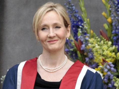 Image: Harry Potter author J.K. Rowling