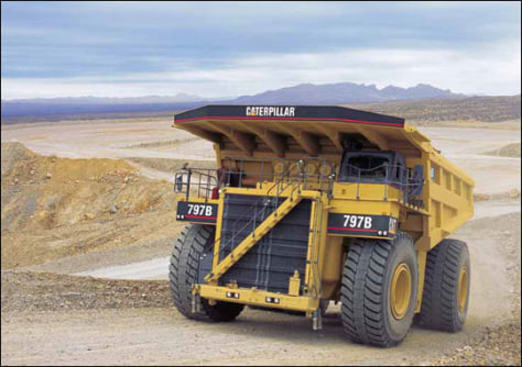 Image: The 700-ton Caterpillar 797
