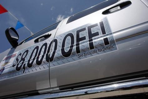 Image: 2010 Chevrolet Silverado pickup truck