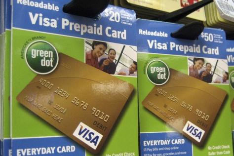 Image: Prepaid cards