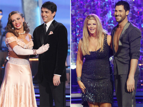Image: Ralph Macchio, Kirstie Alley on 'Dancing with the Stars.""