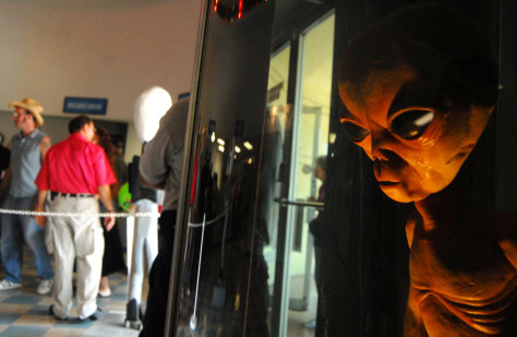 Image: International UFO Museum and Research Center in Roswell, N.M.