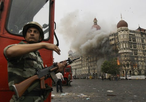 Image: Mumbai hotel during attack