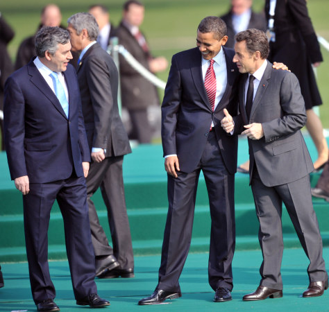 Image: Brown, Obama, Sarkozy