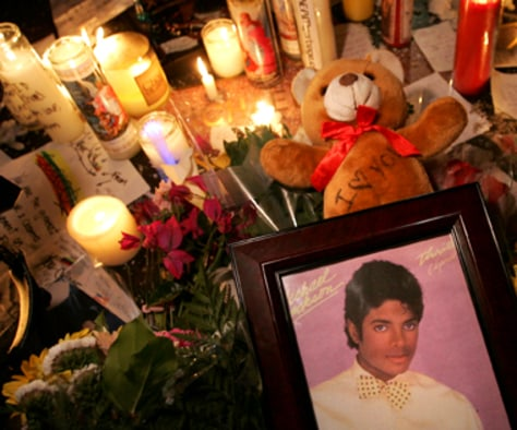 Image: POP ICON MICHAEL JACKSON DEAD AT 50