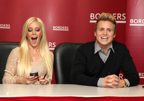 Image: Heidi Montag and Spencer Pratt
