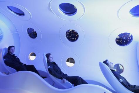 Image: Virgin Galactic SpaceShipTwo Cabin