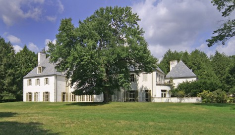 The Clark home in New Canaan, Connecticut