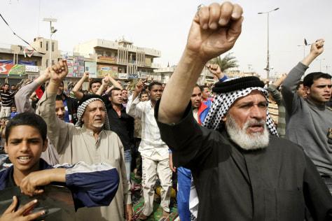 Image: Muqtada al-Sadr supporters