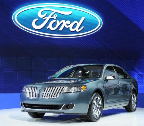 Image: Lincoln MKZ Hybrid