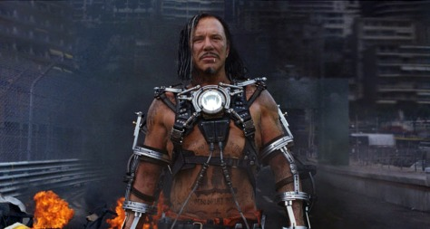 Image: Mickey Rourke plays Ivan Vanko