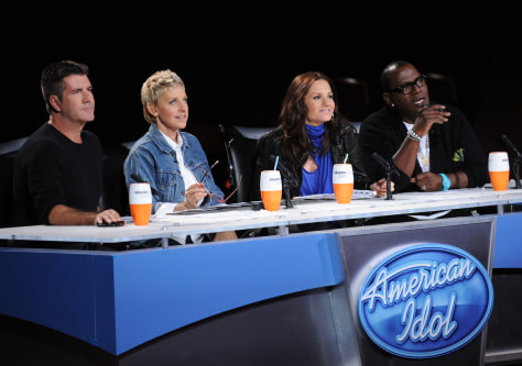 "Image: ""American Idol"" judges"