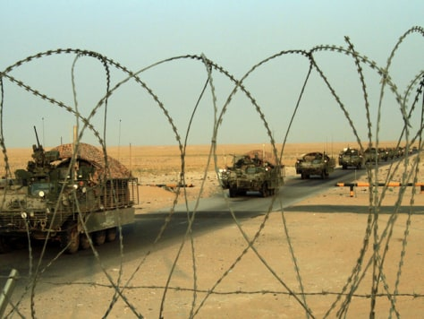 Image: U.S. combat troops leaving Iraq