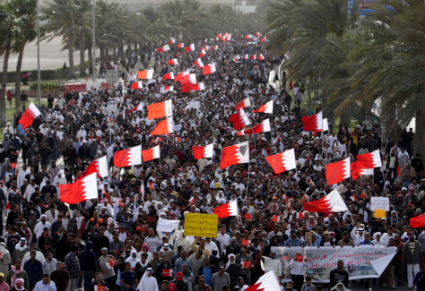 Image: Bahrain protests