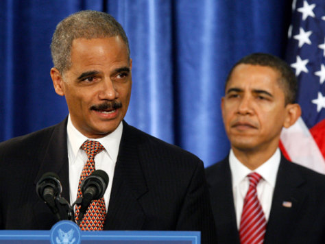 Image: Barack Obama, Eric Holder