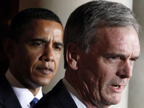 Image:Barack Obama, Judd Gregg