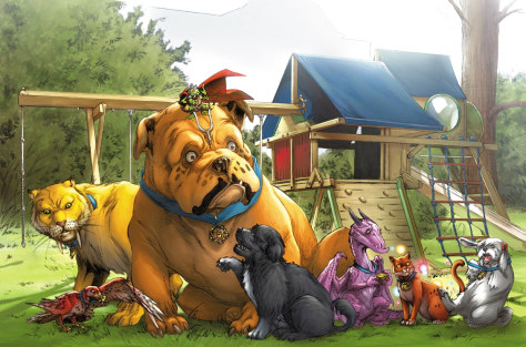 Image: Lockjaw and the Pet Avengers