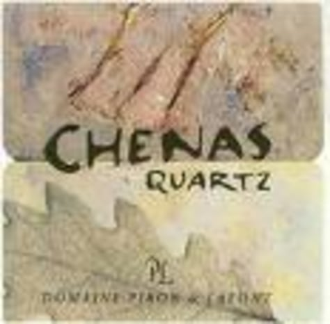 Image: Chenas Quartz wine label