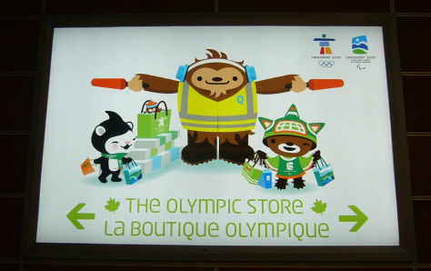 Image: Olympic store