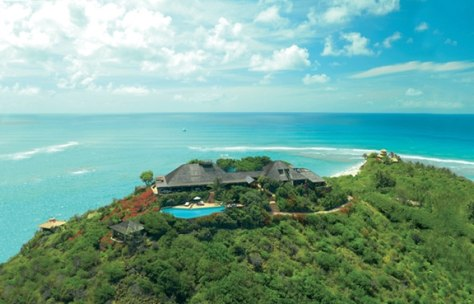 Sir Richard Branson's Necker Island retreat