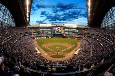 Image: Miller Field, Milwaukee Brewers