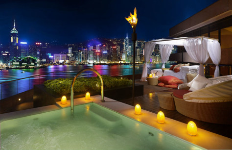 Image: InterContinental Hong Kong's Terrace Suite