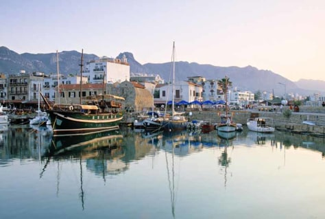 Image: Kyrenia Harbour, Northern Cyprus