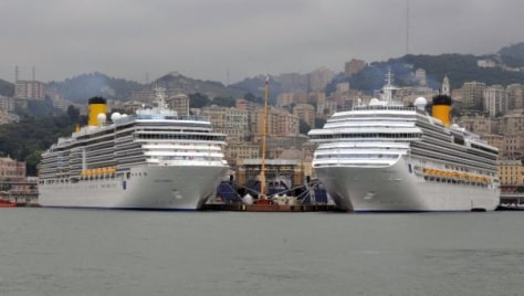 Image: Costa Luminosa and Costa Pacifica
