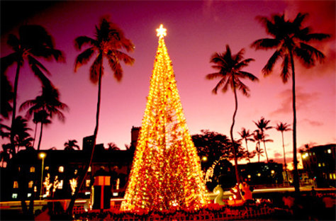 Image: Honolulu City Lights, Hawaii