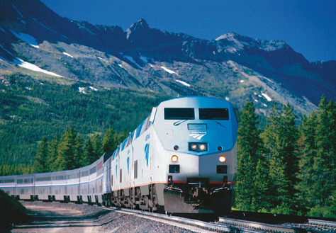 Empire Builder: Glacier National Park