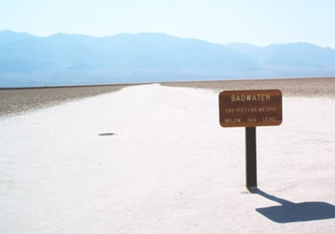 Image: Death Valley Scenic Byway, California
