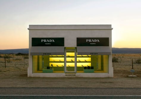 Image: Prada boutique, Marfa, Texas