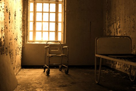 Image: The deserted psychiatric hospital in Lier, Norway