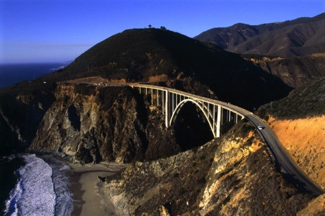 Image: Bixby Bridge, Big Sur, Calif.